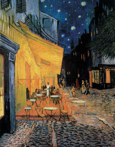 Cafe At Night by Vincent Van Gogh