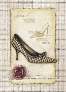 Shoe I by G.P. Mepas