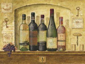 Bottles of Wine I by G.P. Mepas