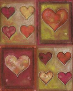 Hearts I by G.P. Mepas