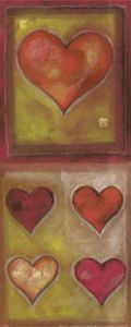 Hearts VI by G.P. Mepas