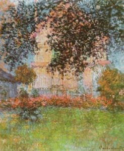 Monet's House at Argenteuil by Claude Monet