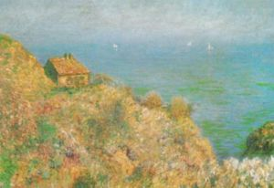 The Customs Officer's House at Varengeville by Claude Monet