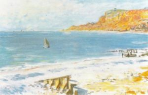 Sainte Adresse by Claude Monet