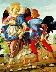 Tobias & The Angel by Workshop of Verrocchio