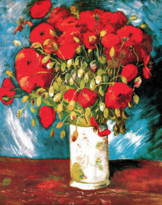 Poppies, 1886 by Vincent Van Gogh