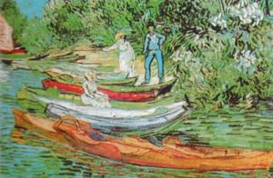 Boats to Rent by Vincent Van Gogh