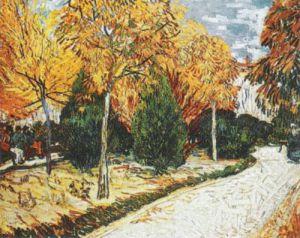 Autumn Garden by Vincent Van Gogh
