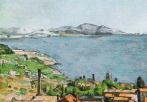 The Bay of Marseilles by Paul Cezanne