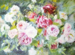 Roses, c.1885 by Pierre Auguste Renoir