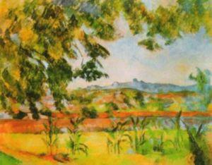 Le Pilon du Rol by Paul Cezanne