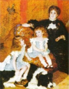 Mrs. Charpentier and Sons by Pierre Auguste Renoir