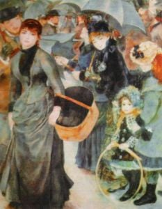 The Umbrellas, 1886 by Pierre Auguste Renoir