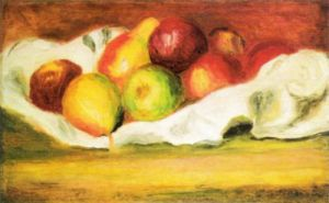 Apples and Pears by Pierre Auguste Renoir