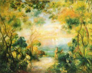 Garden at Sorrento, 1881 by Pierre Auguste Renoir