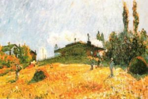 Station at Severs by Alfred Sisley
