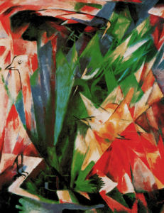 Vogel by Franz Marc