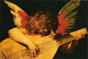 Musician Angel by Rosso Fiorentino