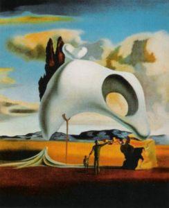Vestiges Ataviques aprés le Pluie by Salvador Dali