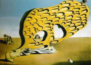 L'Enigma del Desiderio: Mia Madre, 1929 by Salvador Dali