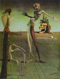 Woman with a Head of Roses, 1935 by Salvador Dali
