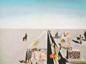 The First Days of Spring, 1929 by Salvador Dali