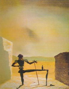 The Ghost of Vermeer by Salvador Dali