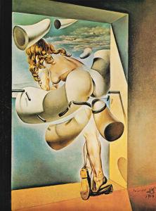 Young Virgin Sodomized by Salvador Dali