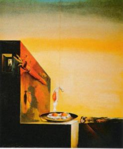 Eggs on a Plate by Salvador Dali