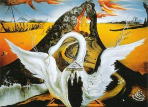 Bacchanale by Salvador Dali