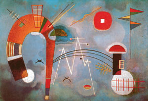 Round and Sharp, 1939 by Wassily Kandinsky