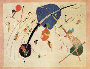 Towards the Blue, 1939 by Wassily Kandinsky