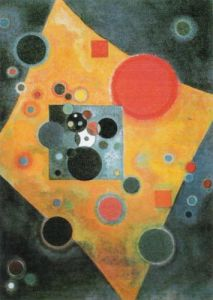 Pink Accent, 1927 by Wassily Kandinsky