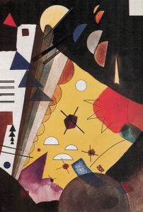 High Tension, 1924 by Wassily Kandinsky