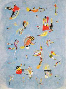Sky Blue, 1940 by Wassily Kandinsky