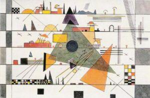 Horizontale, 1924 by Wassily Kandinsky