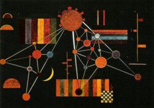Geflecht von Oben n. 231, 1927 by Wassily Kandinsky