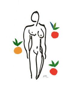 Nu aux Oranges, 1953 by Henri Matisse