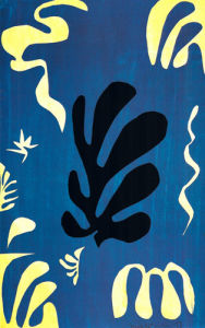Composition Fond Bleu, 1951 by Henri Matisse