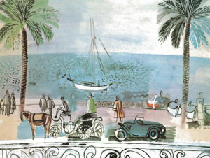 Promenade a Nice, 1926 by Raoul Dufy