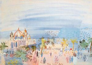 Le Casino de Nice, 1934 by Raoul Dufy