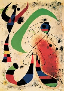 La Nuit by Joan Miro