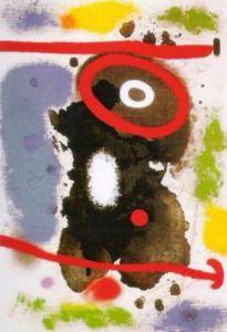 Tete J by Joan Miro