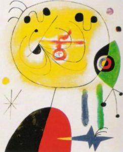 Et Fixe les Cheveux by Joan Miro