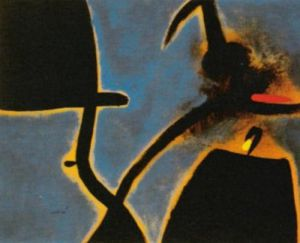Dones, Ocell, 1973 by Joan Miro