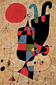 Upside-down Figures by Joan Miro