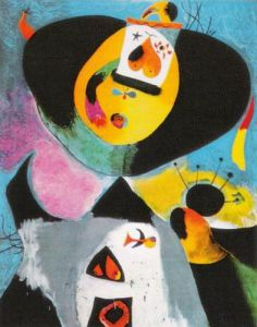Portrait Nr 1 by Joan Miro
