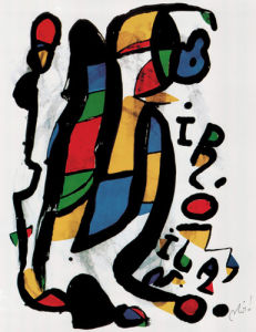 Milano by Joan Miro