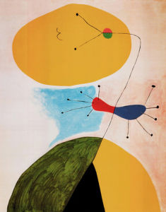 Portrait, 1938 by Joan Miro