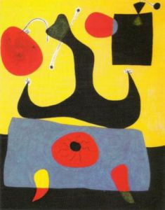 Femme Assise, 1933 by Joan Miro